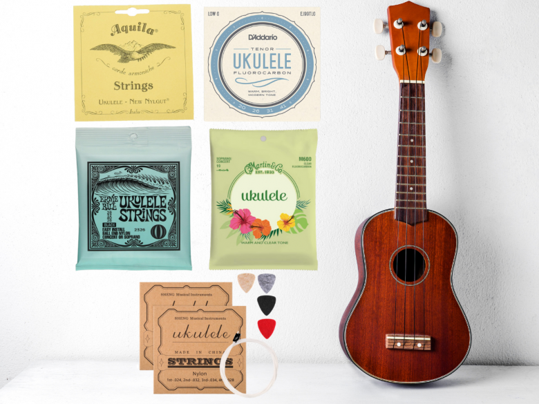 Beginners Guide To The 5 Best Ukulele Strings