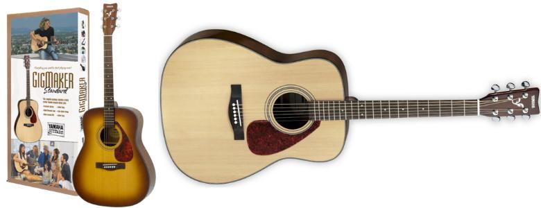 4 size acoustic guitar