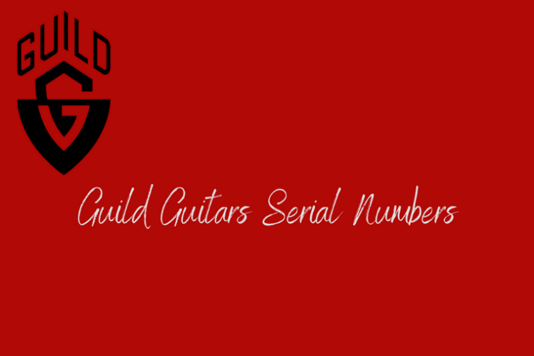 Guild Serial Number