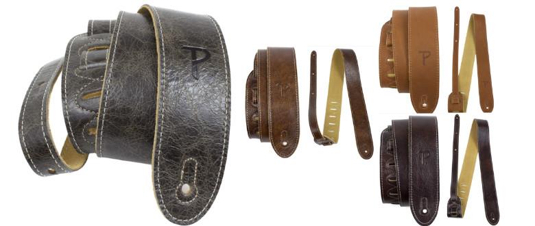 Perri's Italian quality leather guitar strap