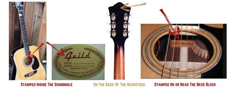 Guild Guitar Decoder