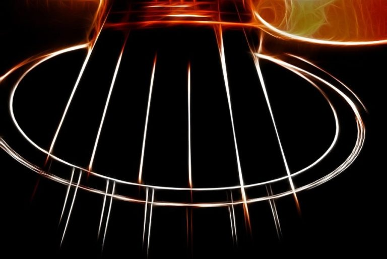 Acoustic V Electric Guitar