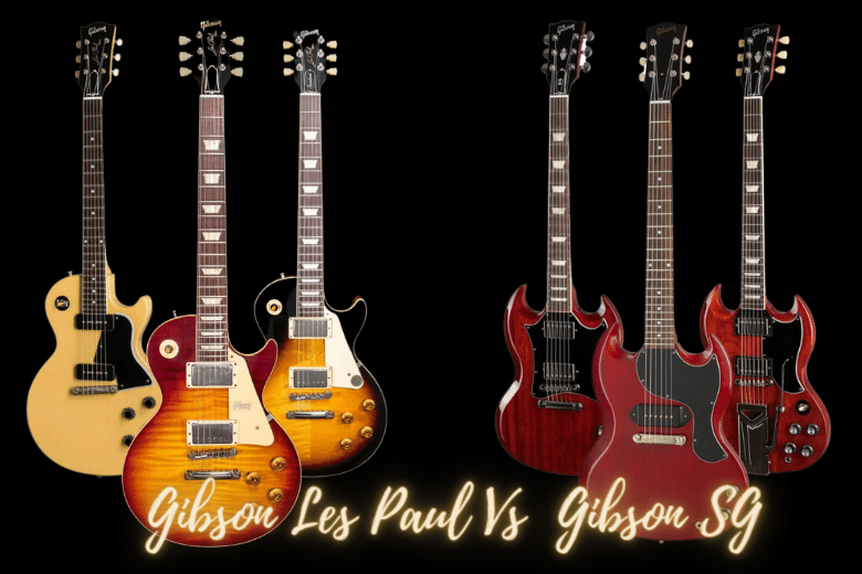 Gibson Les Paul Vs SG. Who Does it Better? 3 Go Head to Head