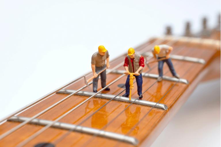 how to set up a guitar
