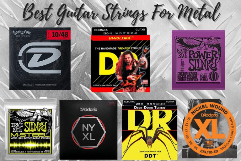 Best Guitar Strings For Metal